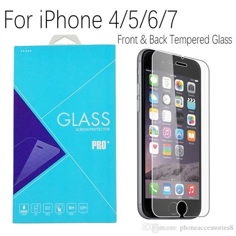 Iphone 7 4 7 Inch Front Back Tempered Glass front back tempered glass screen protector for