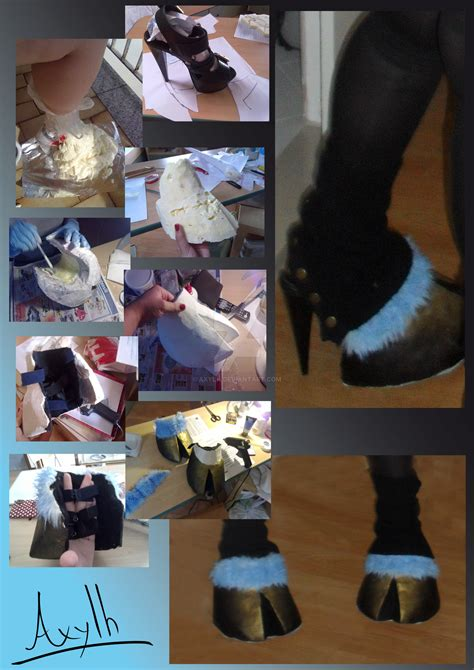 TUTORIAL Simple Draenei's Clogs by Axylh on DeviantArt