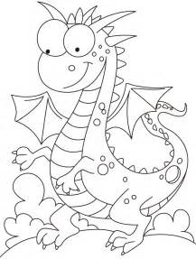 fire and ice dragon coloring pages