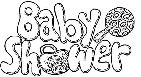 printable coloring pages for baby showers baby shower celebration coloring page free printable