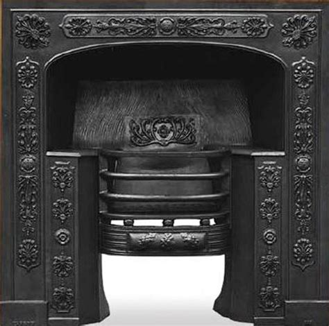 Cast Iron Fireplace Black by Queensferry Black Finish Cast Iron Fireplace Hob Grate