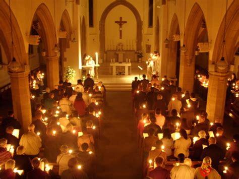 vigil lights catholic church holy week 2014 easter vigil
