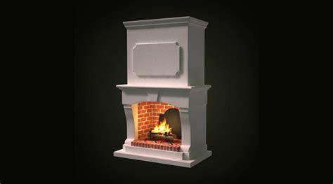 Fireplace 3d by Fireplace 3d Library 3d Models Furnitures Objects Toys