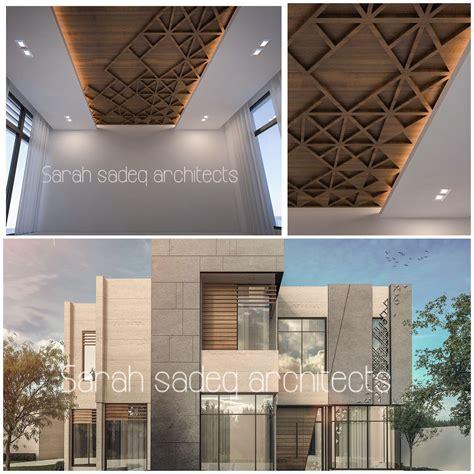 Architectural Wall Systems Oman - uae villa by sadeq architects sadeq
