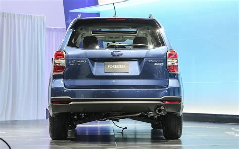 2014 subaru forester light 2014 subaru forester shows off impreza inspired styling