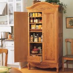 Free Standing Pantries For Kitchens by Best 25 Armoire Pantry Ideas On Kitchen