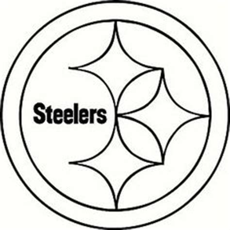 Steelers Logo Coloring Page c on pittsburgh steelers coloring