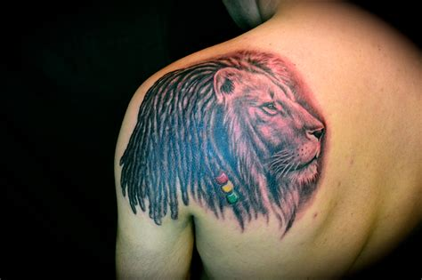 lion tattoo hd hd lion rasta tattoo design idea for men and women