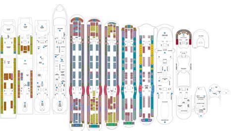 Galerry printable deck plans celebrity solstice