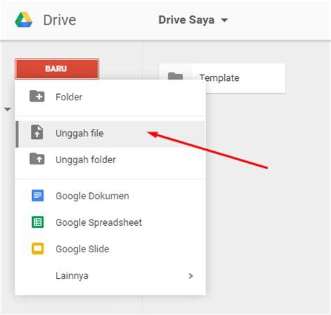 upload file  google drive  mudah espada blog