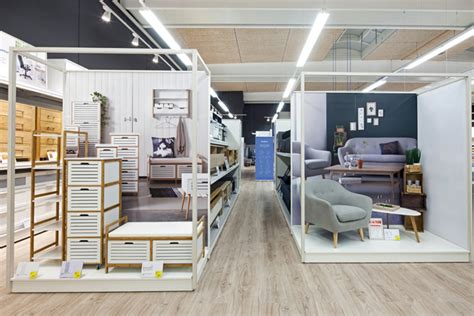 home furnishings store design jysk store by dalziel pow horsens denmark 187 retail