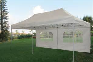 10x20 Canopy With Sidewalls by 10 X 20 Pop Up Tent Canopy Gazebo W 6 Sidewalls 9 Colors