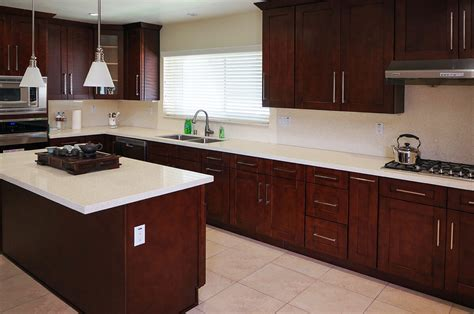 mahogany kitchen cabinets mahogany shaker ready to assemble kitchen cabinets the