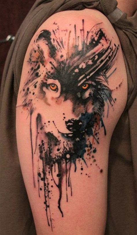 quarter sleeve wolf tattoo 35 brilliant quarter sleeve tattoos pictures cool