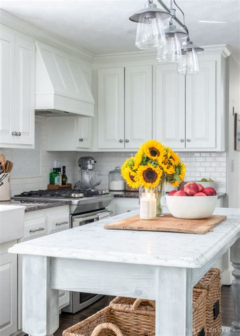 ideas for decorating kitchens simple early fall kitchen decorating ideas hendrick