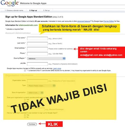 membuat account gmail dengan domain sendiri one stop service cara membuat account email dengan nama