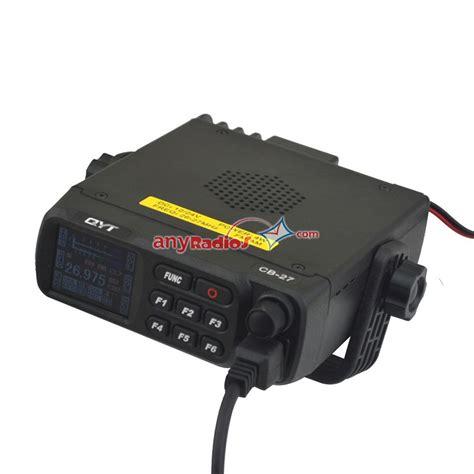 cb mobile qyt cb 27 am fm citizen band cb mobile radio walkie