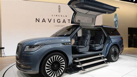 lincoln jeep 2016 lincoln navigator concept new york 2016 photo gallery