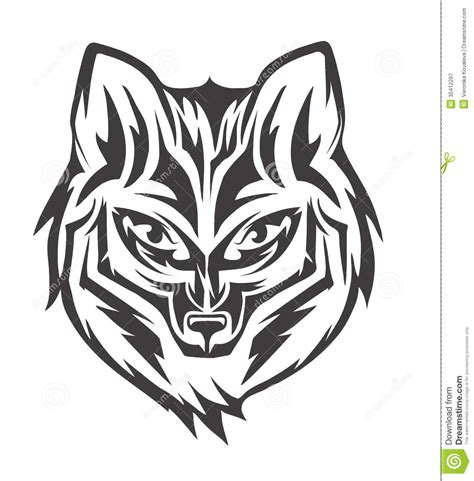 black and white mr fox a pipe design fox royalty free stock photography image 35412297