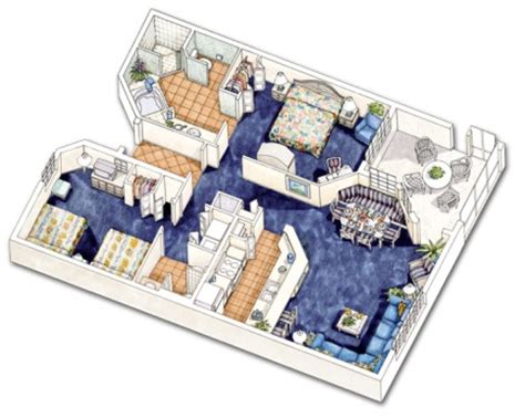 orange lake resort floor plans holiday inn club vacations at orange lake resort 2