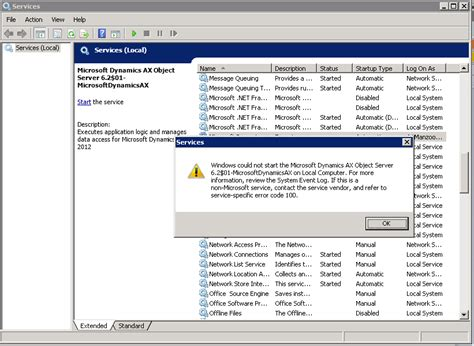 Resume Now Ax Daxperience Dynamics Ax 2012 R2 Fatal Sql Condition During Login