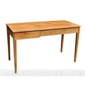 Meja Belajar Jati Minimalis meja belajar anak desain minimalis kbma 004 mebel kayu