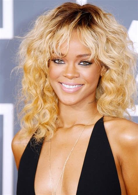 swag hair cuts medium lenght 1000 ideas about rihanna curly hair on pinterest