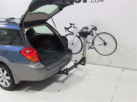 Subaru Hitch Bike Rack by 2009 Subaru Outback Wagon Thule Apex Swing 4 Bike Rack For