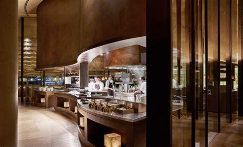 Dining Room Buffet Table Italian Cuisine At Armani Ristorante Armani Hotel Dubai