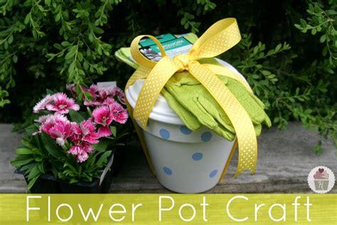 flower pot crafts s day gift flower pot craft hoosier