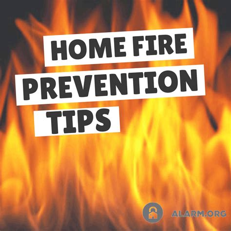 How To Prevent House Fires by Prevention For Your Home