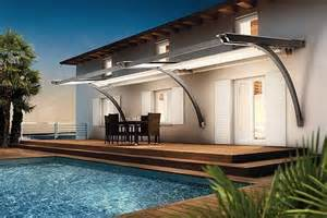 Patio Awning Lights Retractable Awning Add Elegance And Sophistication To