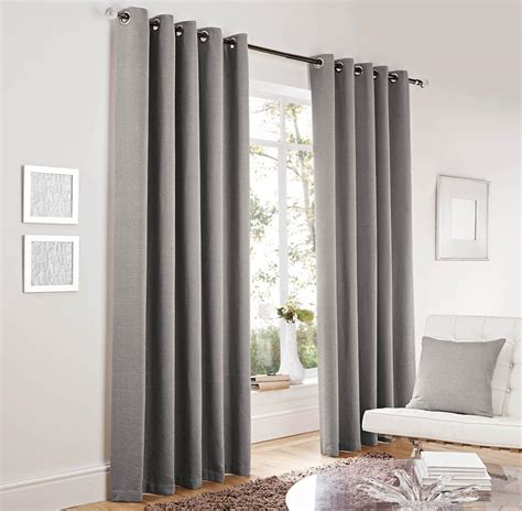 contemporary curtain lincoln eyelet curtains silver free uk delivery terrys