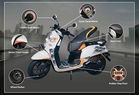 Karpet Scoopy New 2017 harga aksesoris motor honda scoopy fi automotivegarage org
