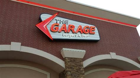 the garage burgers and picture of the garage