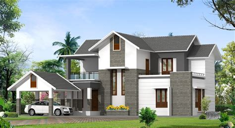 Contemporary Model Kerala Houses So Replica Houses Contemporary House Plans Kerala