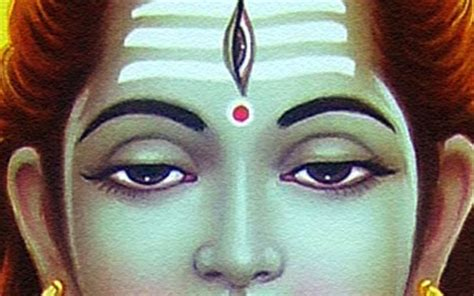 The Eye Of Shiva symbols associated with lord shiva