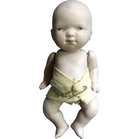 bisque baby doll all bisque baby doll 682 14 germany pink bisque with