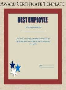printable award certificate templates sampleprintable com