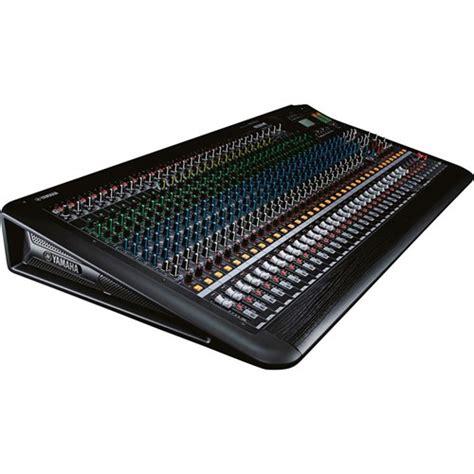 Mixer Yamaha Mgp32x yamaha mgp32x 32 channel mixing console analogue mixers