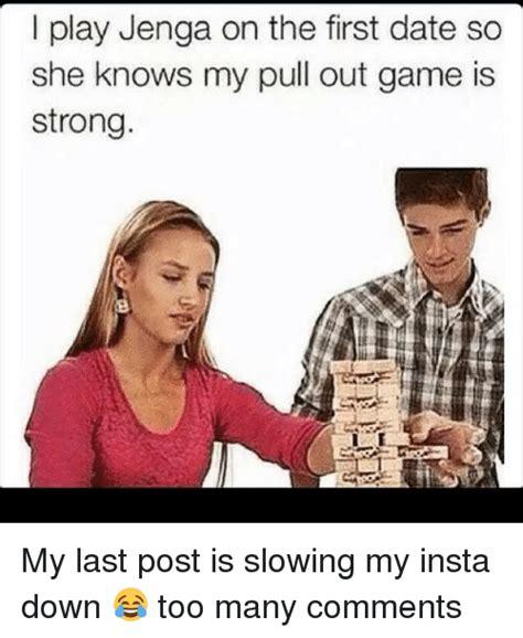Jenga Meme Pull Out Game