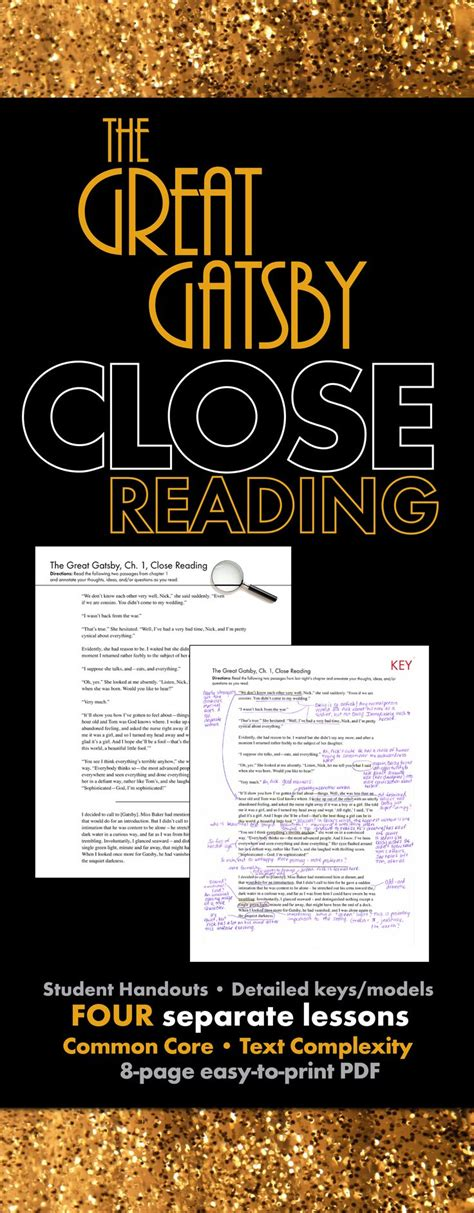 themes and lessons in the great gatsby best 25 reading lesson plans ideas on pinterest guided