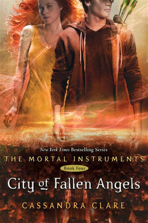 City Of Fallen Angels The Mortal Instruments Series 4   city of fallen angels cover the mortal instruments