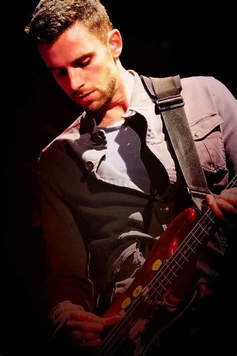 coldplay bassist guy berryman a k a handsome bassist from coldplay