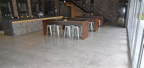 Sleek Polished Concrete in Central Coast   Bluetongue Brewery