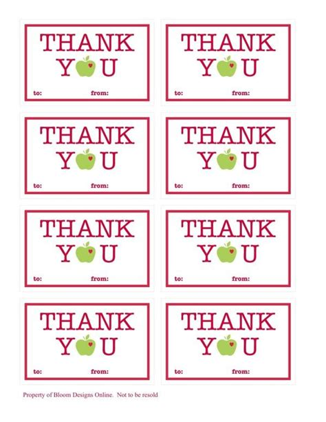 printable thank you tags pinterest thank you tag printables pinterest