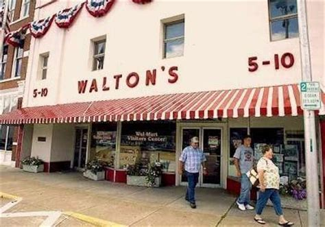 sam walton s first five and dime store in bentonville wal mart visitors center walton s five and dime