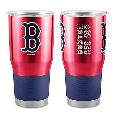 red sox bathroom accessories mlb boston red sox boelter 30 oz stainless steel