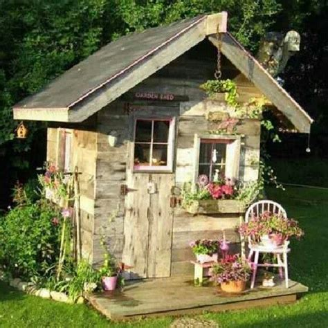 Potting Shed Cottages by Cottage Potting Shed With Porch Garden Stuff