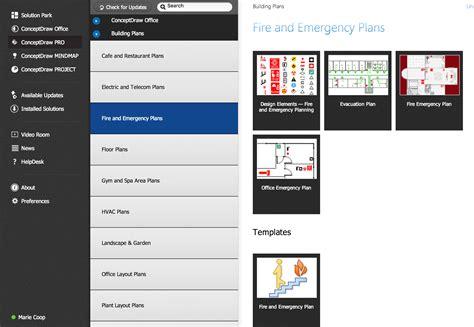 emergency plan sample fire emergency plan